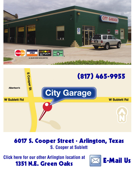 City Garage Grand Prairie